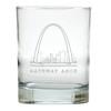 AMERICAN LANDMARK OLD FASHIONED - SET OF 6 GLASS