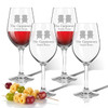 Tritan Wine Stems 12 oz (Set of 4) : Adirondack Chairs