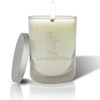 Soy Glass Candle - Personalized Flamingo