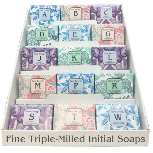 Pure Energy Apothecary Initial Soaps (CSPOPPEIN)