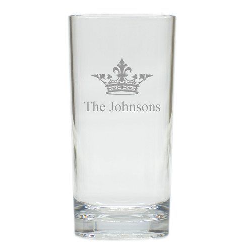 PERSONALIZED CROWN COOLER: SET OF 6 (Glass)