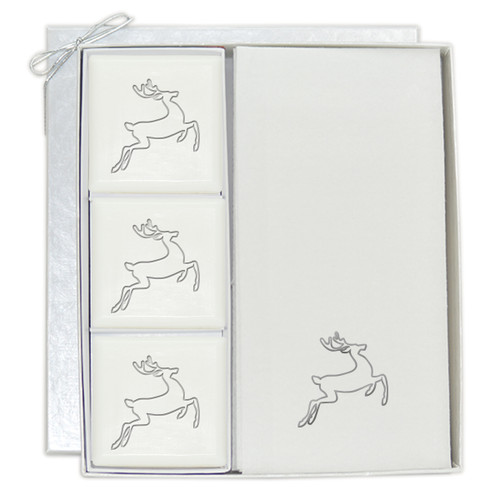 Signature Spa Courtesy Gift Set - Silver Deer