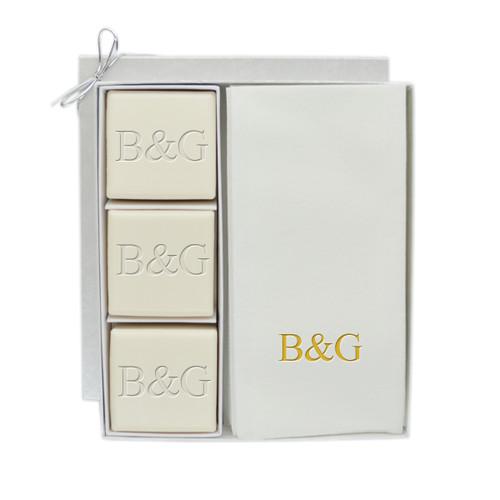 Eco-Luxury Courtesy Gift Set - Gold Initial & Initial
