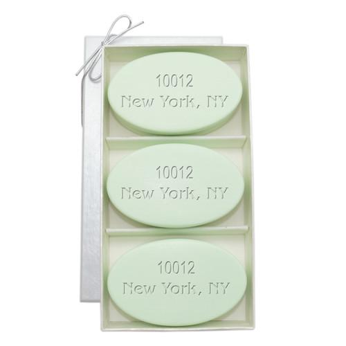 Signature Spa Trio - Green Tea & Bergamot: Personalized Zip Code