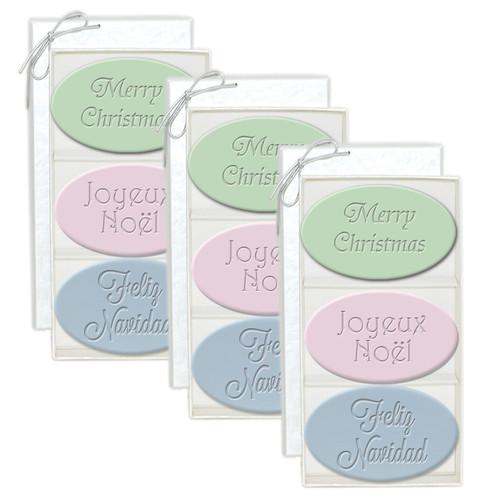 Signature Spa Trio - Joyeux, Merry, Feliz (Set of 3)