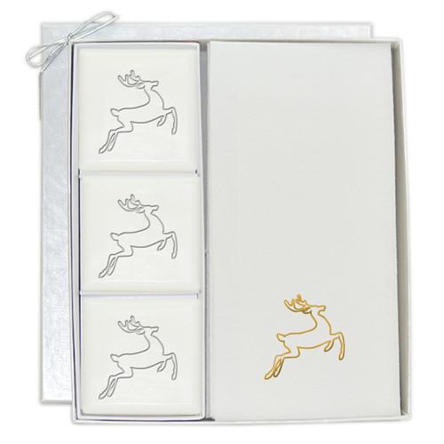 Signature Spa Courtesy Gift Set - Gold Deer