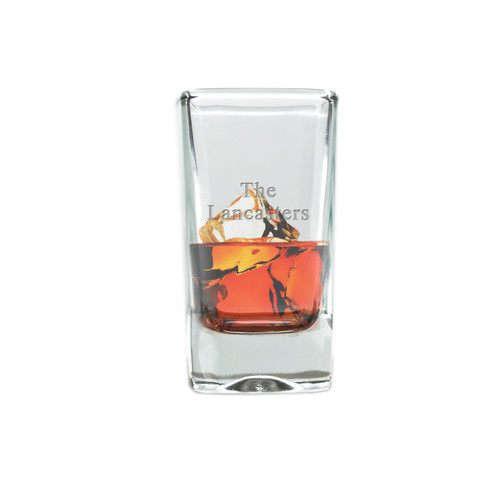 Personalized Shot/Dessert Glass( Standard Carving Options )