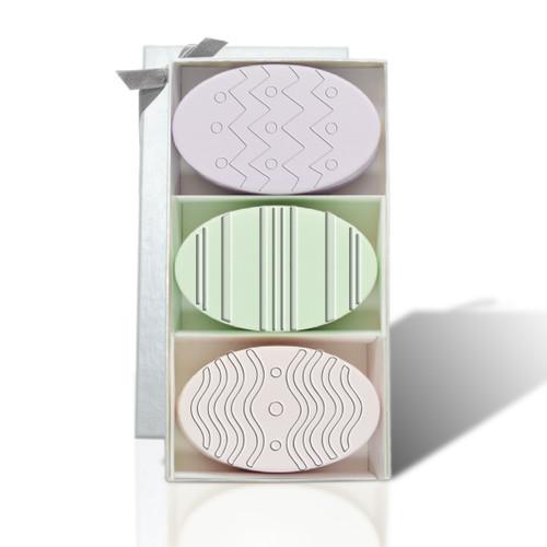 Signature Spa Trio - Green Tea, Lavendar & Satsuma: Easter Eggs