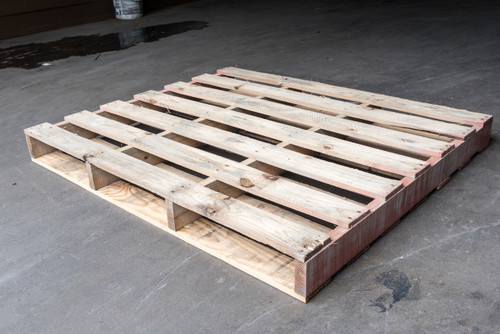 40 in. x 48 in. Used Wood Pallets (Qty of 5 Pallets)
