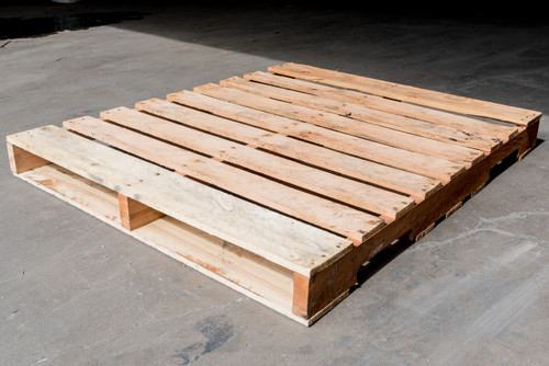 50 in. X 42 in. Used Wood Pallets (Qty of 5 Pallets)