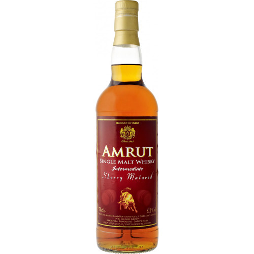 Amrut Intermediate Sherry Single Malt Whisky