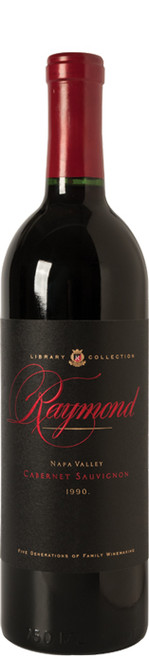 Raymond Library Collection Cabernet Sauvignon 1990