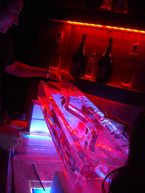 Frozen Bliss Ice Luge