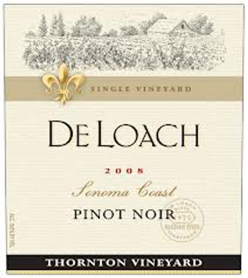 DeLoach Thorton Vineyard Pinot Noir 2008
