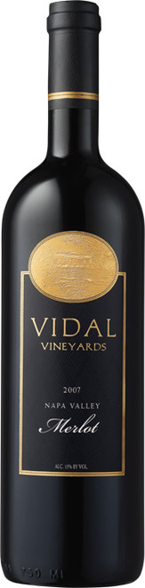 Vidal Vineyards Merlot 2007