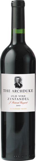 The Archduke Old Vine Zinfandel 2013