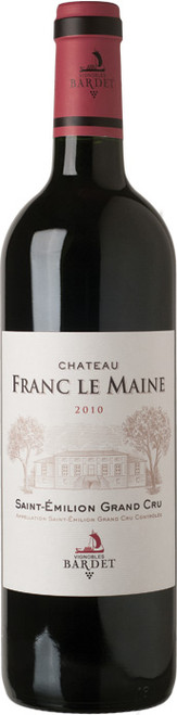 Chateau Franc le Maine Saint Emilion Grand Cru 2010