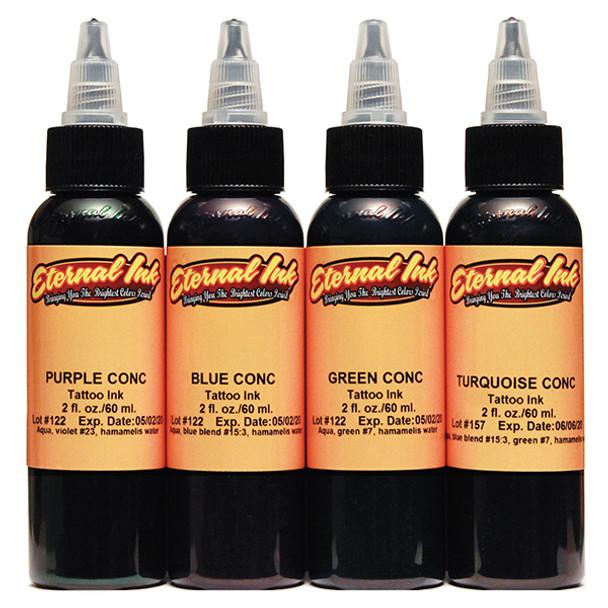 ETERNAL CONCENTRATES FOUR COLOR INK SET