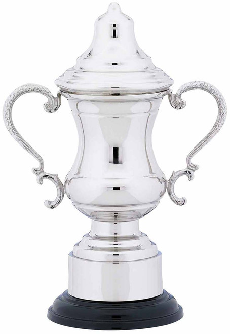 NICKEL PLATED CUP AND LID