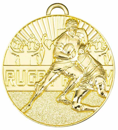 RUGBY TACKLE MEDAL