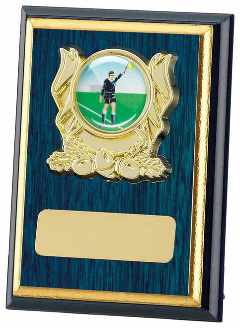 Blue Finish Multisport Modern Plaque available in 3 sizes with FREE engraving.
