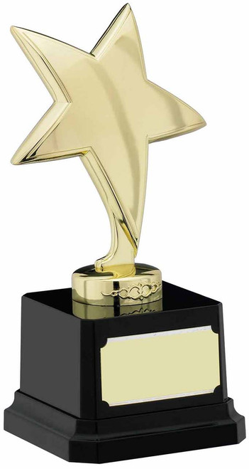 GOLD FINISH STAR TROPHY