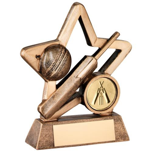 Little Star budget cheap cricket bat and ball award available in 2 sizes
