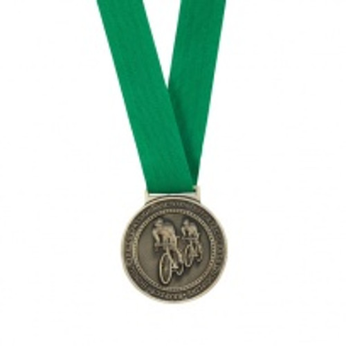 Green Olympia Ribbon for Olympia Medal range