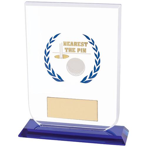 Gladiator Nearest The Pin Golf premium glass award