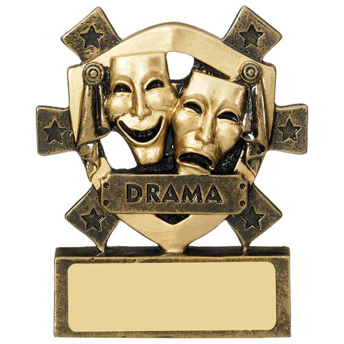 Star Shield Drama Theatre Performance Budget Award from 1stPlace4Trophies