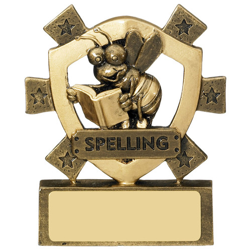 Star Shield Spelling Budget cheap School Award RM635 at 1st Place 4 Trophies