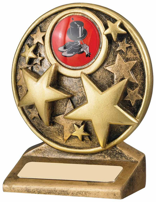 Circle Stars Achievement Award available in 2 sizes with FREE engraving