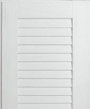 NatureKast- Louver Super White