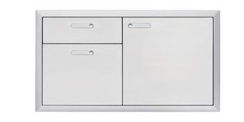 """Lynx 42"""" Storage door & double drawer"""