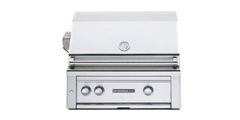 Sedona L500 Built in Grill - 2 SS Tube Burners with Rotisserie