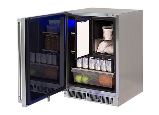 "Lynx 24"" Refrigerator Freezer Combo, Left"