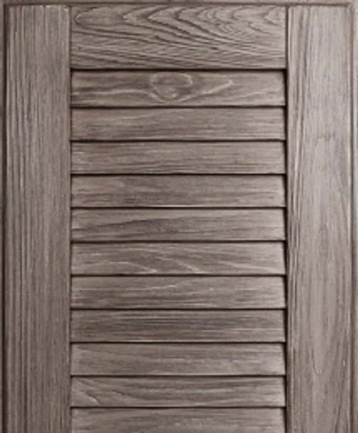 NatureKast- Louver Weathered Graphite