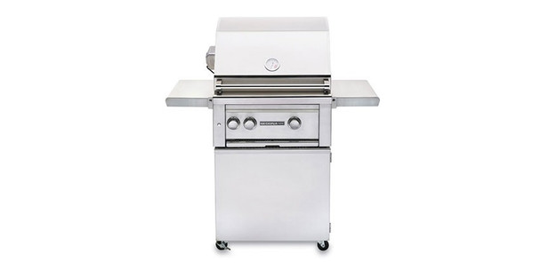 Sedona L400 Freestanding Grill - 2 SS Tube Burners with Rotisserie - Ships Assembled