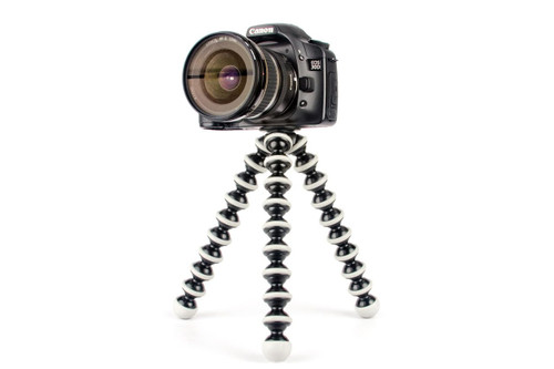 by Gorillapod SLR-Zoom Tripod (*camera not included)