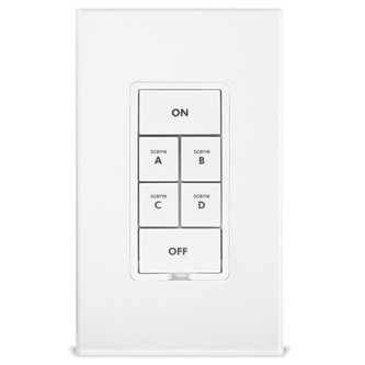 Insteon 2487S KeypadLinc 6-Button Scene Controller w/ 1800W On/Off (non-dimming) Switch