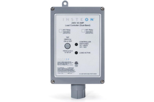 Insteon 2477SA2 240V 30A Load Controller, Normally Closed Relay