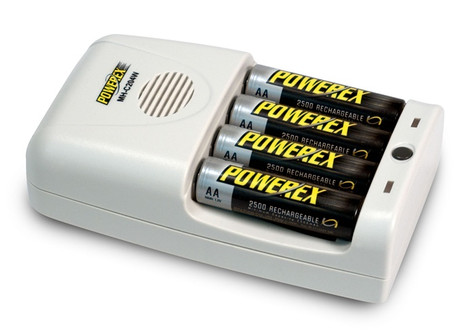 Maha PowerEx MH-C204W Worldwide 1-Hour Battery Charger for AA/AAA NiMH rechargeable batteries