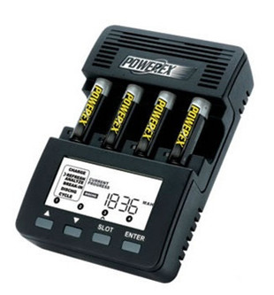 Maha PowerEx MH-C9000 WizardOne Battery Charger-Analyzer for 4 AA / AAA