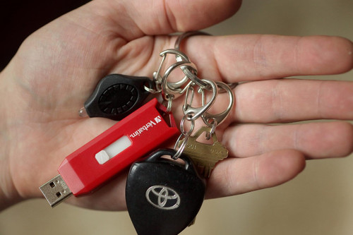 Quick-Release Keyring (Nickel Plated)
