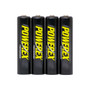 PowerEx PreCharged Rechargeable AAA Batteries - 1000mAh, Ultra Low Self-Discharge