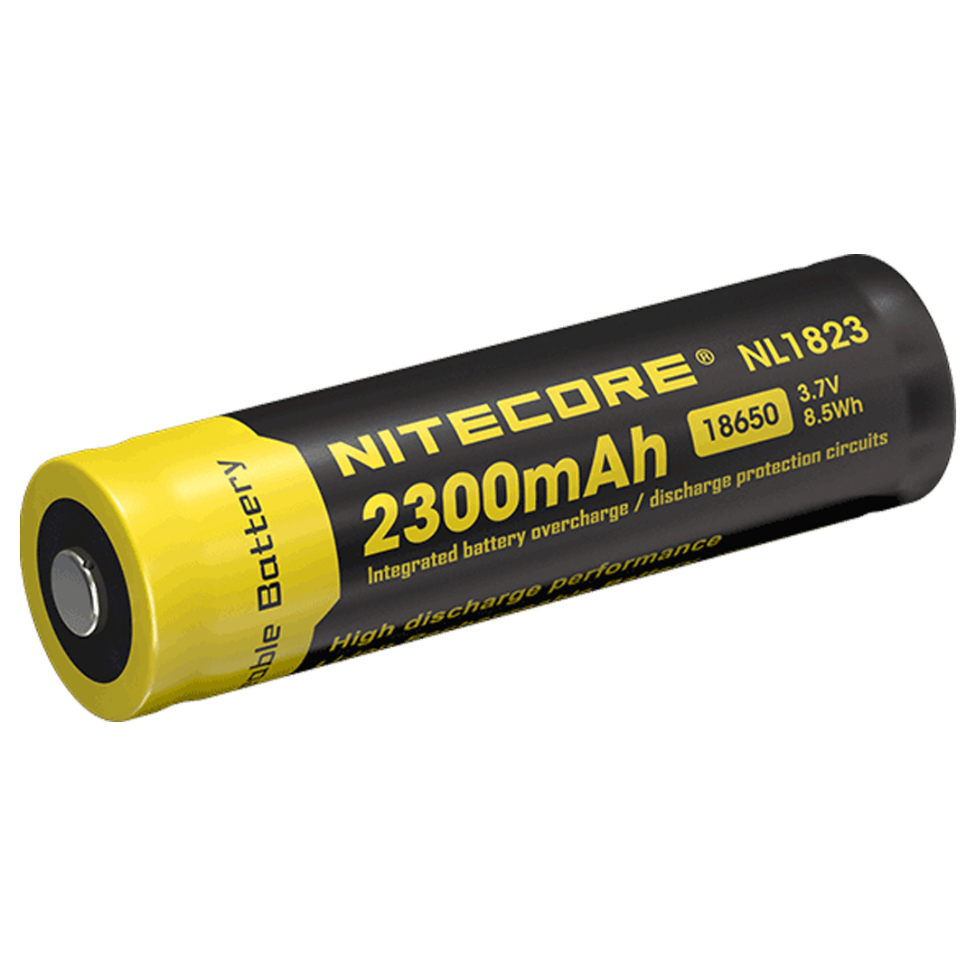 Nitecore Nl1823 2300mah Rechargeable 18650 Li Ion Battery Protection Circuit Images Of Inc