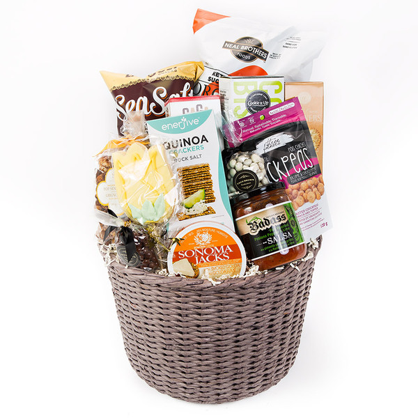 Gift delivery canada an impressive assortment of sweet savoury items a perfect hostess gift gift includes negle Choice Image