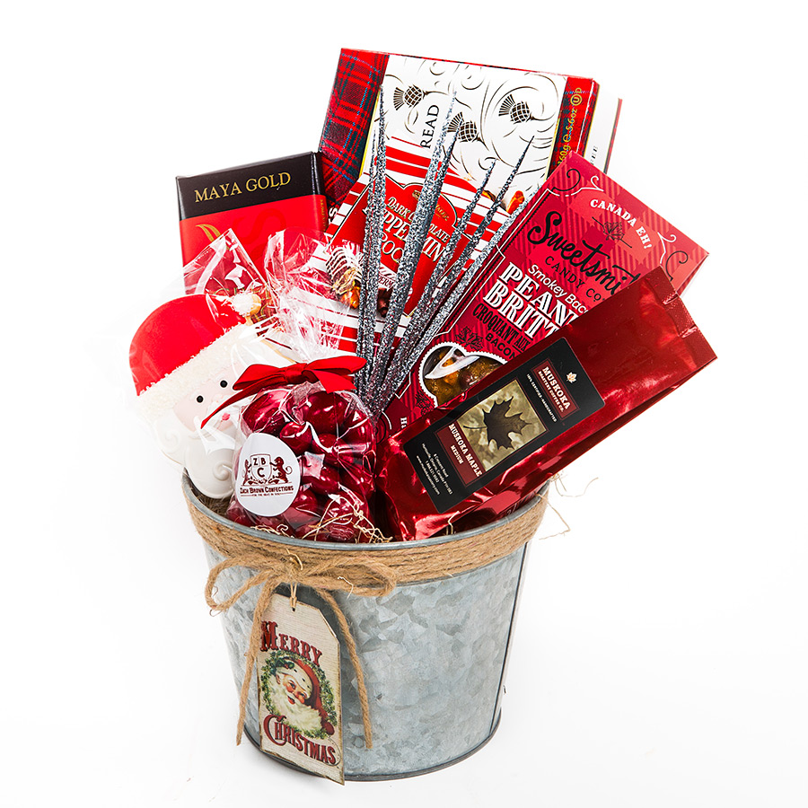 Holiday Gift Basket Merry Christmas