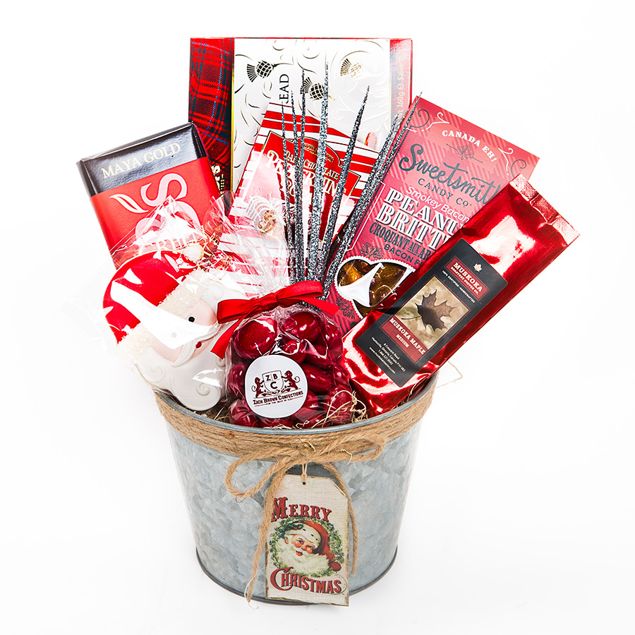 Gift basket Merry Christmas