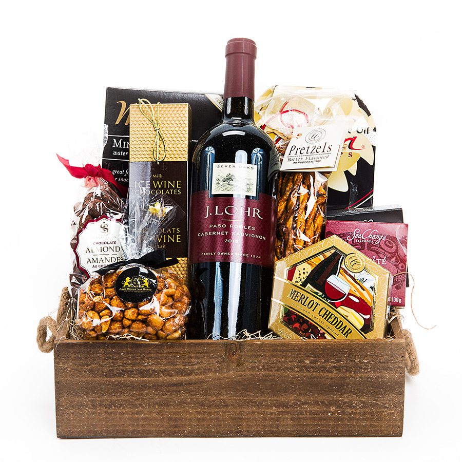 J lohr red wine gift basket red wine gift basket delivery negle Images